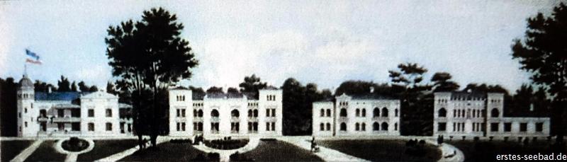 Entwurf der Villenreihe von Wilhelm Stern