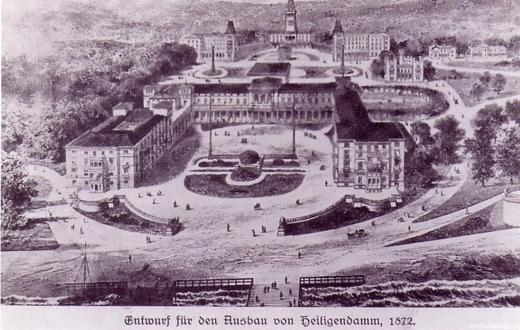Ausbauplan für Heiligendamm von Kayser&Großheim 1872