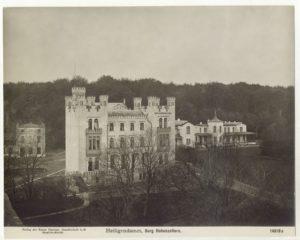 """Burg """"Hohenzollern"""", benannt nach dem preußischen Herrschergeschlecht."""