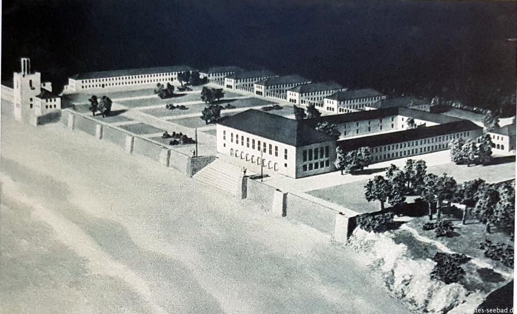 Modell der Adolf-Hitler-Schule Heiligendamm