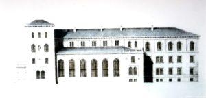 Studie für ein neues Logierhaus von Friedrich August Stüler