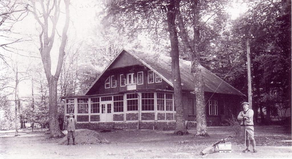 Der erste Golfplatz befand sich dort, wo heute der Saisonparkplatz ist.