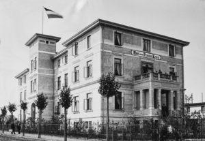 """Der geläufige Name ist """"Mecklenburgisches Heim für Kaufmanns-Erholung"""""""