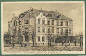 """Aus """"Dunker's"""" wurde der """"Hamburger Hof"""" und schließlich das Kinderpflegeheim der AOK Hamburg."""