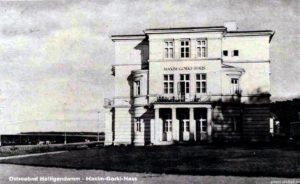 """Zu DDR-Zeiten wurden die Häuser umbenannt. Hier Villa """"Großfürstin Marie"""" in Haus """"Maxim Gorki"""""""