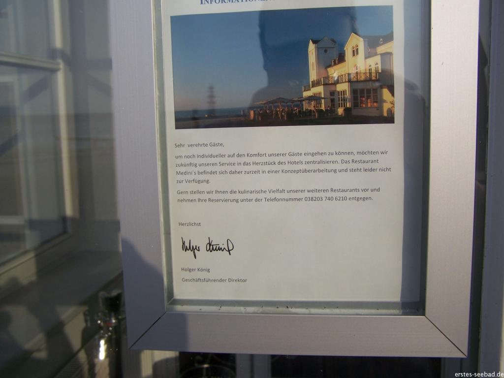 Der Insolvenzverwalter schloss das Medini's, um das Grand Hotel von der Jagdfeld-Gruppe zu entflechten.