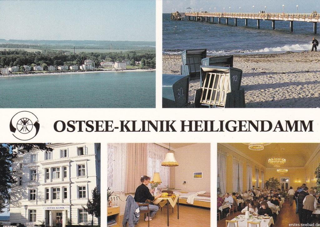 Die Ostseeklinik ging 1997 in der neuen MEDIAN-Klinik auf