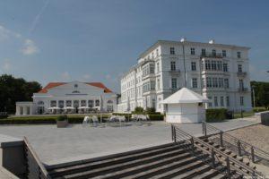 Der Pavillon war Kulinarik-Exklave und Geldquelle