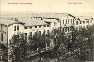 Hotel garnis in der heutigen Kühlungsborner Straße