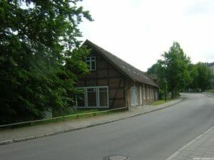 """Das ehemalige Marstall-Gebäude hieß im Volksmund """"Roter Hahn"""""""