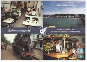 Das Schwanencafé befand sich in den Kolonnaden. Bernd Walter wohnte darüber.