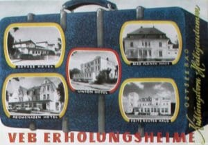 Das Sanatorium kam 1948 unter Obhut des FDGB
