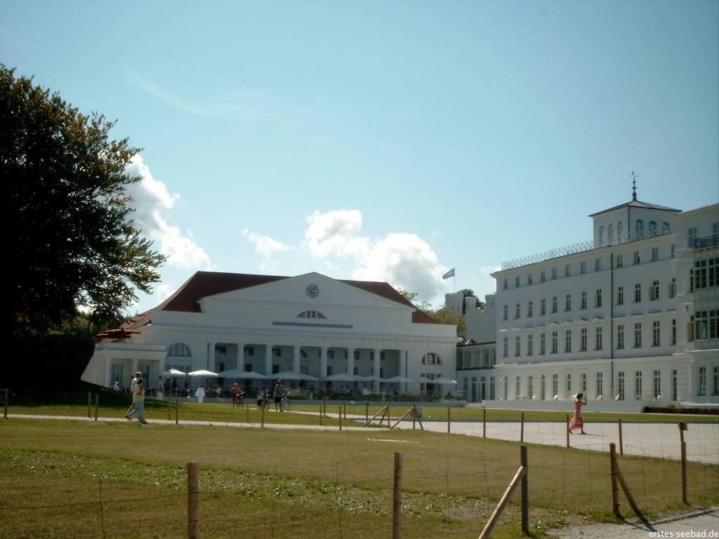 Das Grand Hotel eröffnete 2003 ohne Zäune