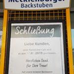 Filiale der Mecklenburger Backstuben in Bad Doberan geschlossen