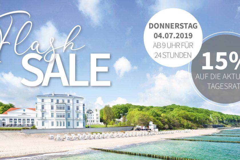 Nur Am 4 Juli Flash Sale 15 Auf Die Aktuelle Tagesrate Im Grand Hotel Heiligendamm Erstes Seebad