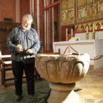 Restaurierung der Tauffünte im Doberaner Münster