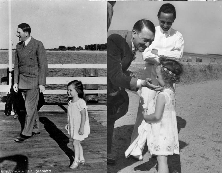 Adolf Hitler auf der Seebrücke Heiligendamm