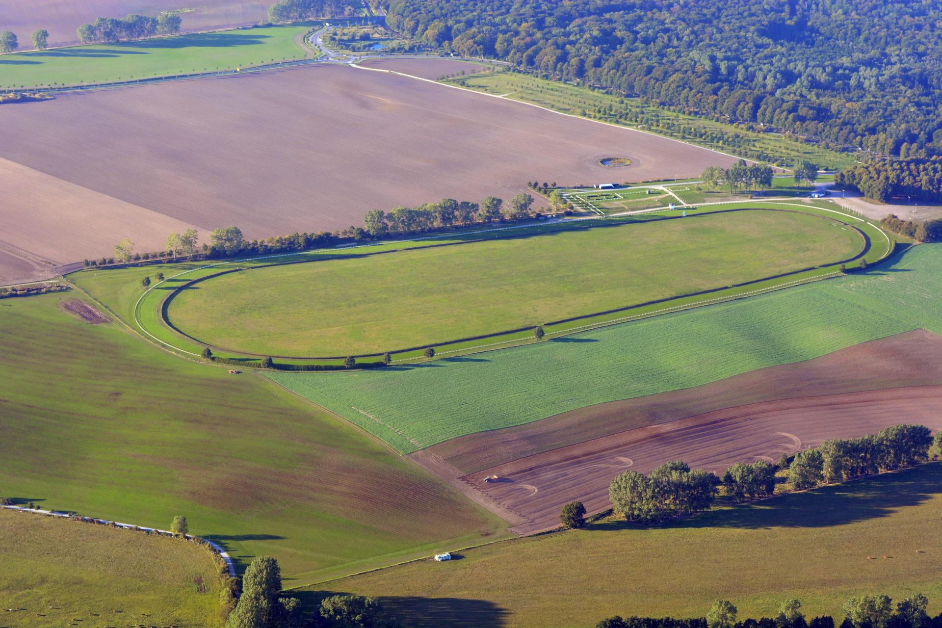 Pferderennbahn Bad Doberan-Heiligendamm Luftbild