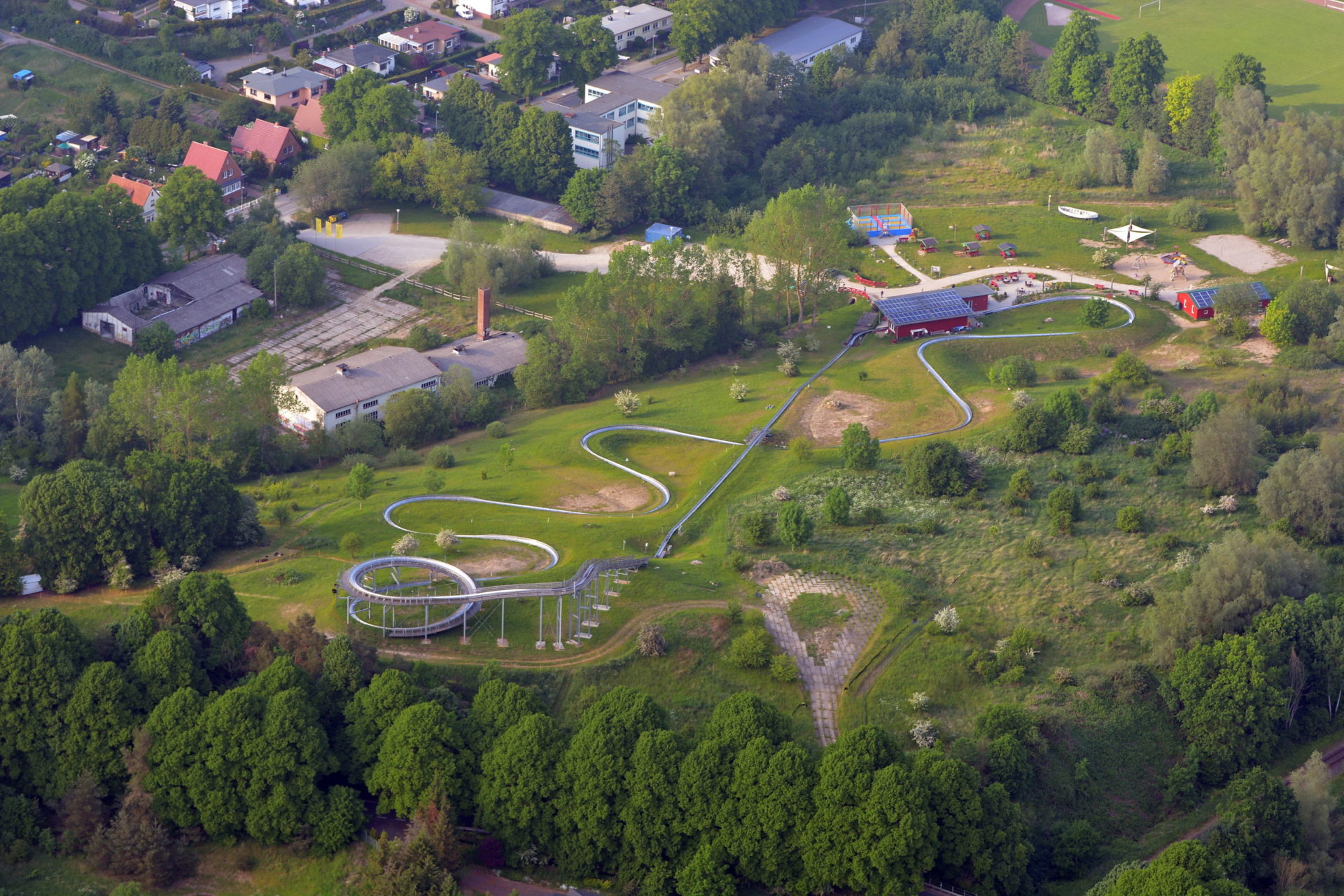 Luftbild Sommerrodelbahn Bad Doberan