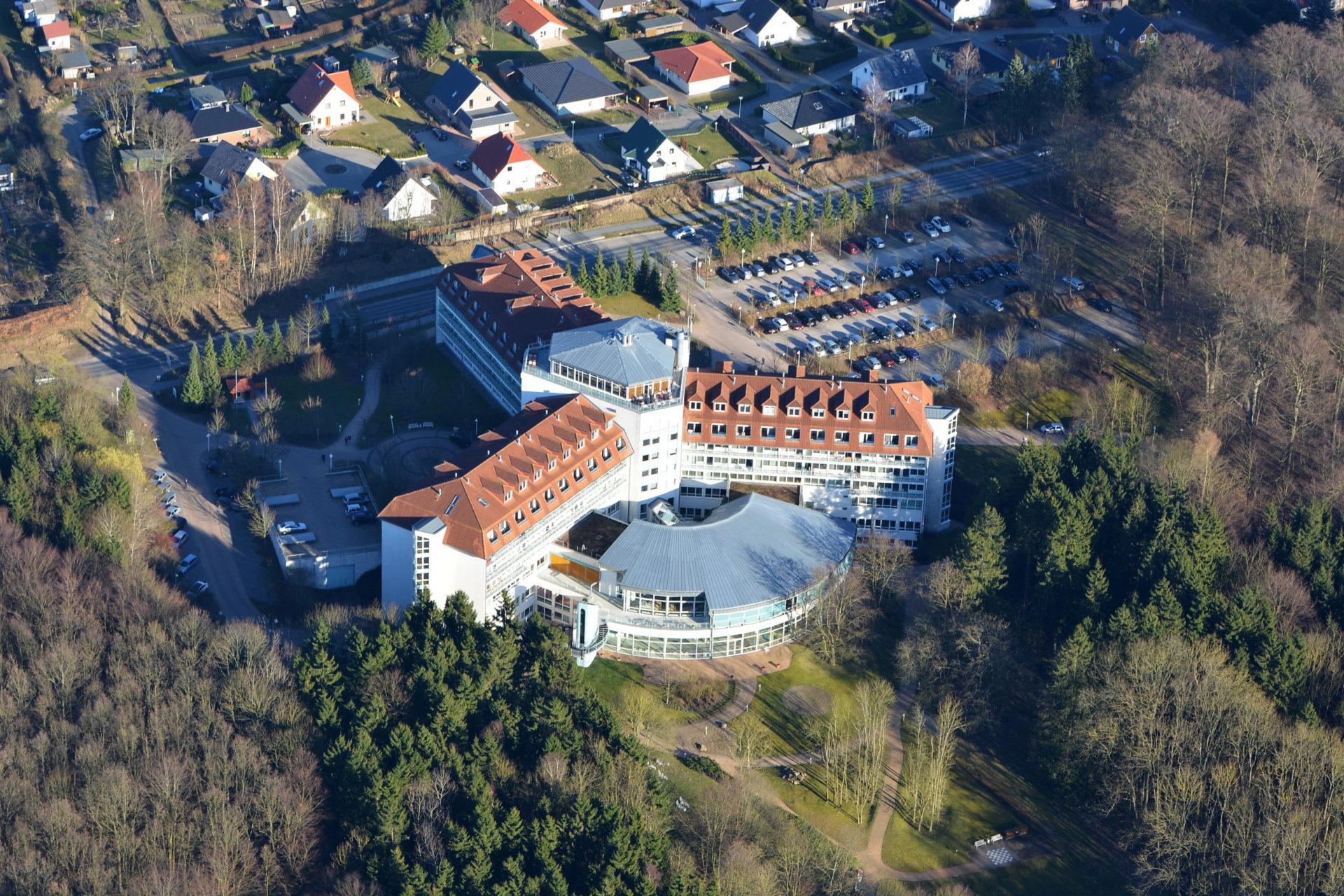 Luftbild Moorbadklinik Bad Doberan