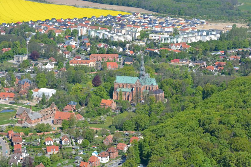 Luftbild Bad Doberan Kloster Pfarrkoppel Kammerhof