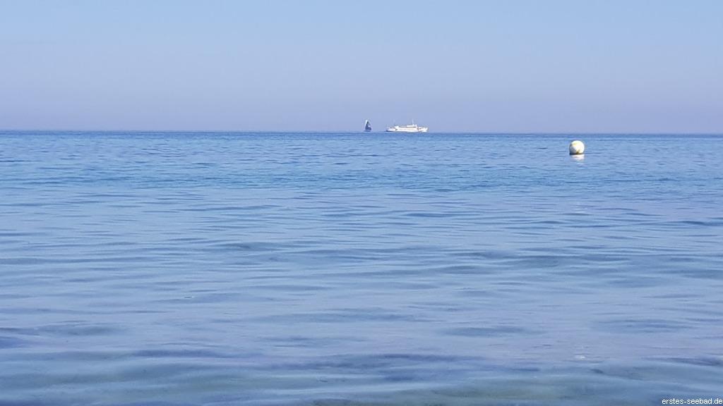Schiff auf Ostsee