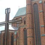Weihe und Segnung für neues Kreuz auf dem Mönchsfriedhof am Münster